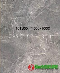 Gạch lát nền 1 mét x 1 mét xám vân đá