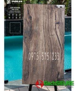 Gạch 60×120 giả gỗ lát nền lát quán cafe quán bar