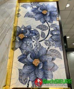 Gạch bông hoa trang trí lát nền mặt tiền 120×240 bông đẹp